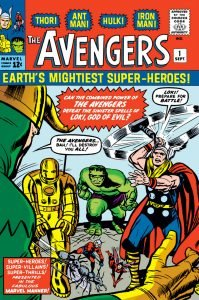 The Avengers (vol. 1) #1 - The Original Avengers