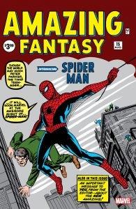 Amazing Fantasy #15 - The arachnid appears