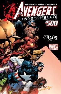 Avengers #500 - Avengers Disassembled