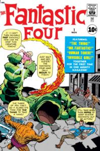 Fantastic Four #1 - Its beginnings