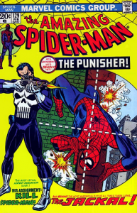 The Amazing Spider-Man (vol. 1) #129 - The Punisher makes his first appearance