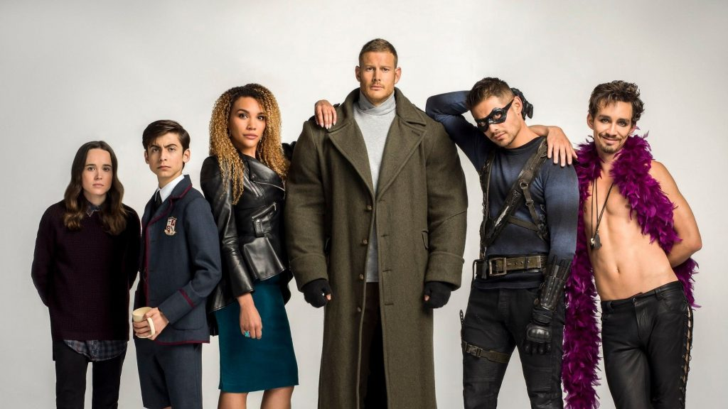 The Umbrella Academy Netflix Top 10