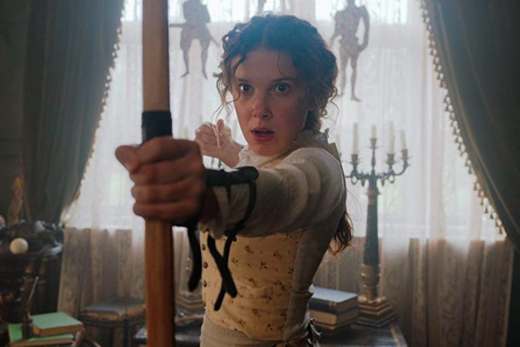 Enola Holmes cast image