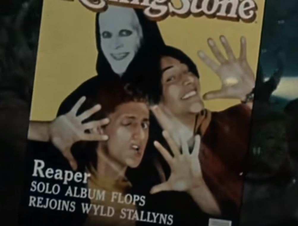 Rolling Stone Bill and Ted image