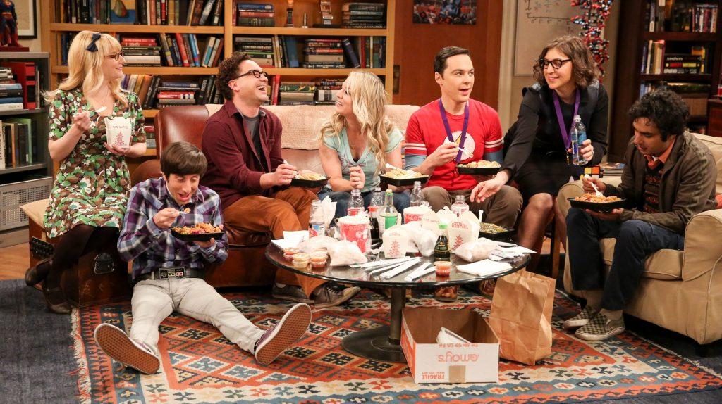 The Big Bang Theory cast image