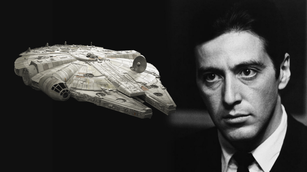 Al Pacino and Millennium Falcon image
