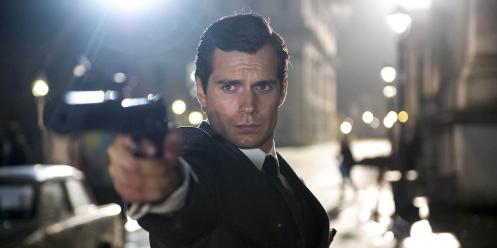 Henry Cavill in the Man from Uncle image