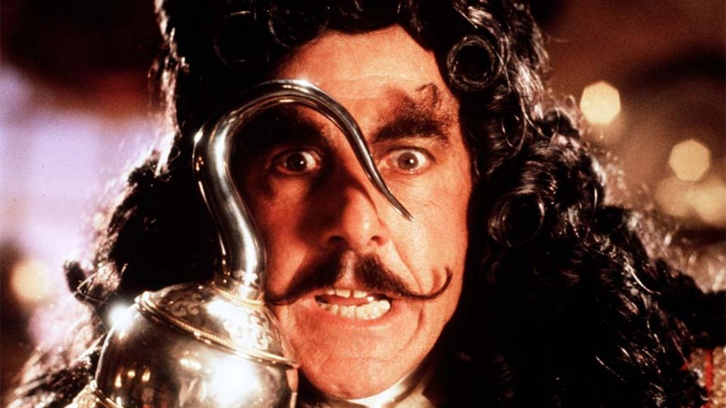 Dustin Hoffman Captain Hook image