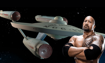 The Rock and the Starship Enterprise image