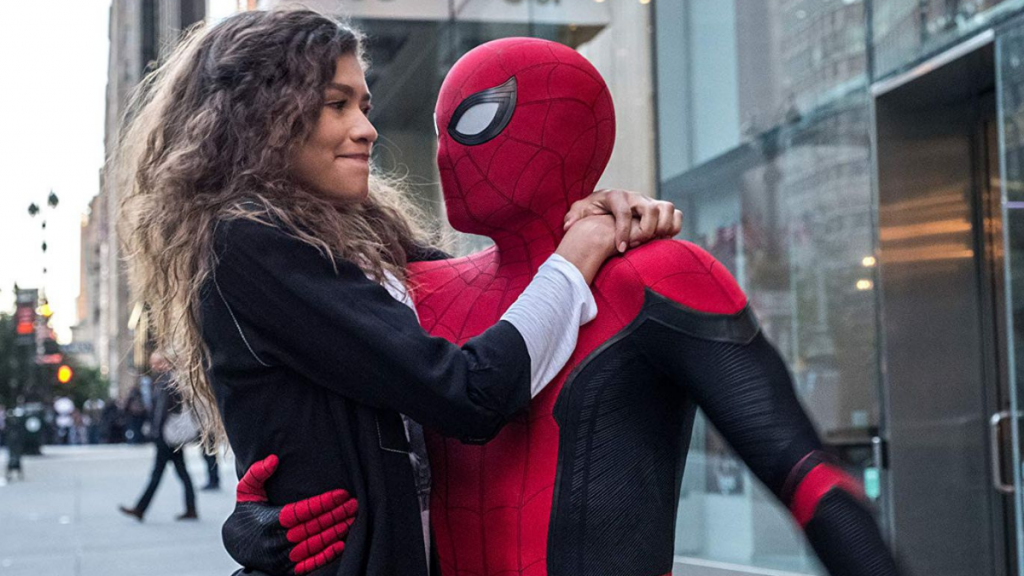 Spiderman far from home post credit scene image