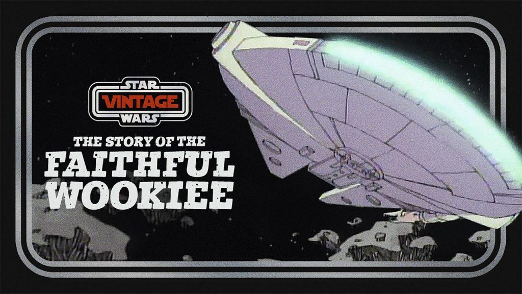 Faithful Wookee Star Wars Vintage