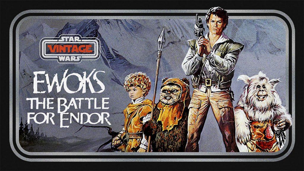 Battle for Endor Star Wars Vintage