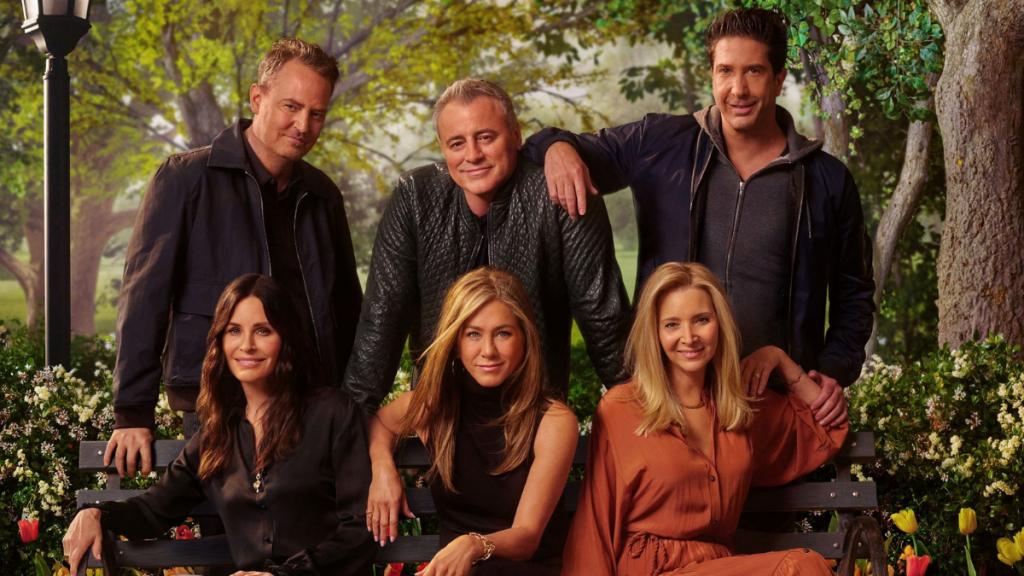 The Friends reunion image