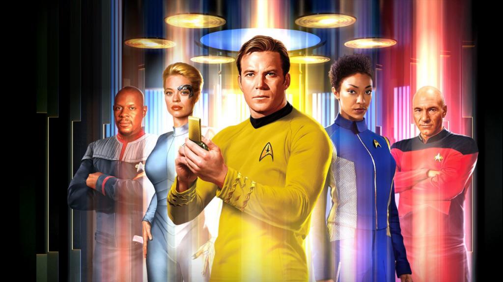 Star Trek crew image